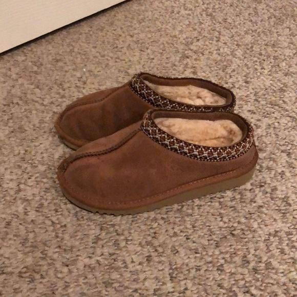 5c53182573c Ugg Tasman chestnut sheepskin slipper shoes sz 13